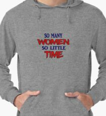 What Is On Every Man's Mind Lightweight Hoodie