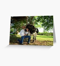 Howdy Pardner Greeting Card