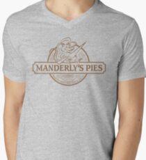 Manderly's Pies Men's V-Neck T-Shirt