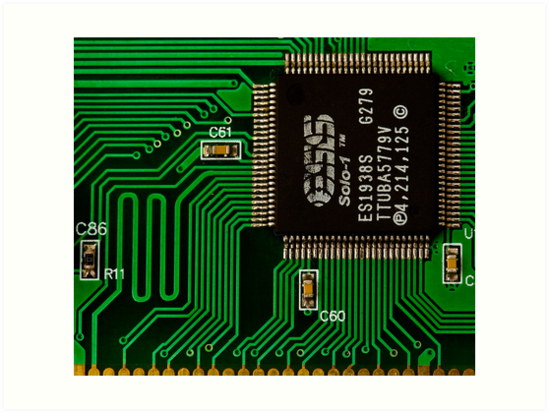 IC and Printed Circuit Board\