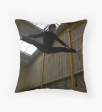 The Straddle Throw Pillow