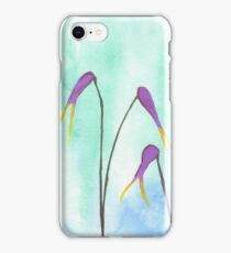 Scissors Flowers iPhone Case/Skin