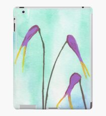 Scissors Flowers iPad Case/Skin