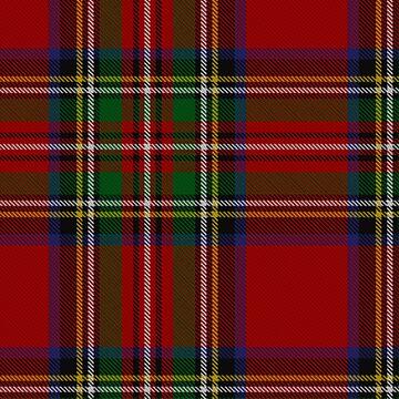 Scotland Royal Stewart Tartan Phone Case by closeddoor