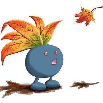 Autumn Oddish by Swainathan