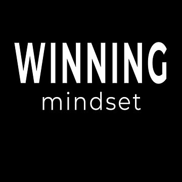 Winning Mindset - For Winners at Living and Life (Design Day 263) by TNTs