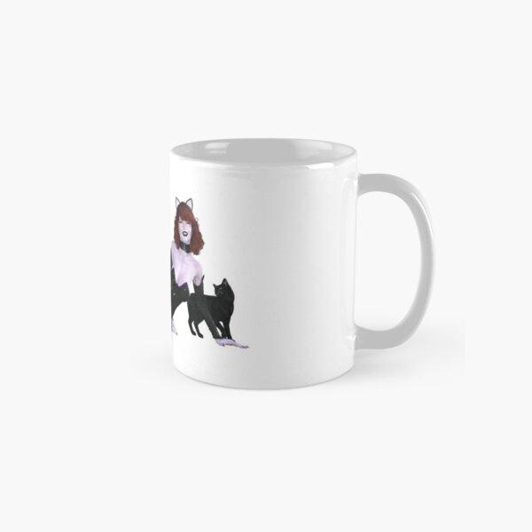 Undead Angels: Vampire Cat Girl Classic Mug