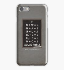 Westerosi Math 101 iPhone Case/Skin