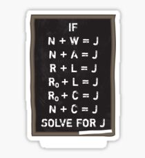 Westerosi Math 101 Sticker