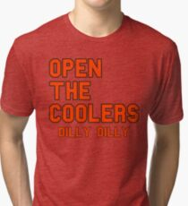 Open The Coolers Dilly Dilly Tri-blend T-Shirt e1b0a9117