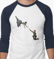 Hello, Doctor. Men's Baseball ¾ T-Shirt