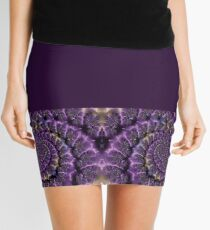 CURLIQUE DIGITAL ART DESIGN BY SAVAGEANDCASSIN Mini Skirt
