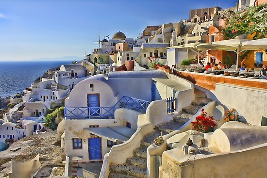 A Summers day in Greece by Giovanna Tucker