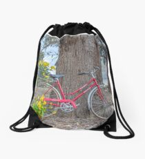 CLASSIQUE SPEEDWELL... Vintage bicycle. Drawstring Bag