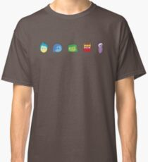 Minimalist Inside Out Characters Classic T-Shirt