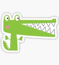 Cutie Crocodile Sticker