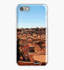Red Roofs of Dubrovnik iPhone Case/Skin