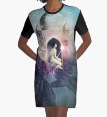The Star Graphic T-Shirt Dress