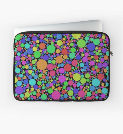 Circle Packing by Tomáš Archalous Laptop Sleeve