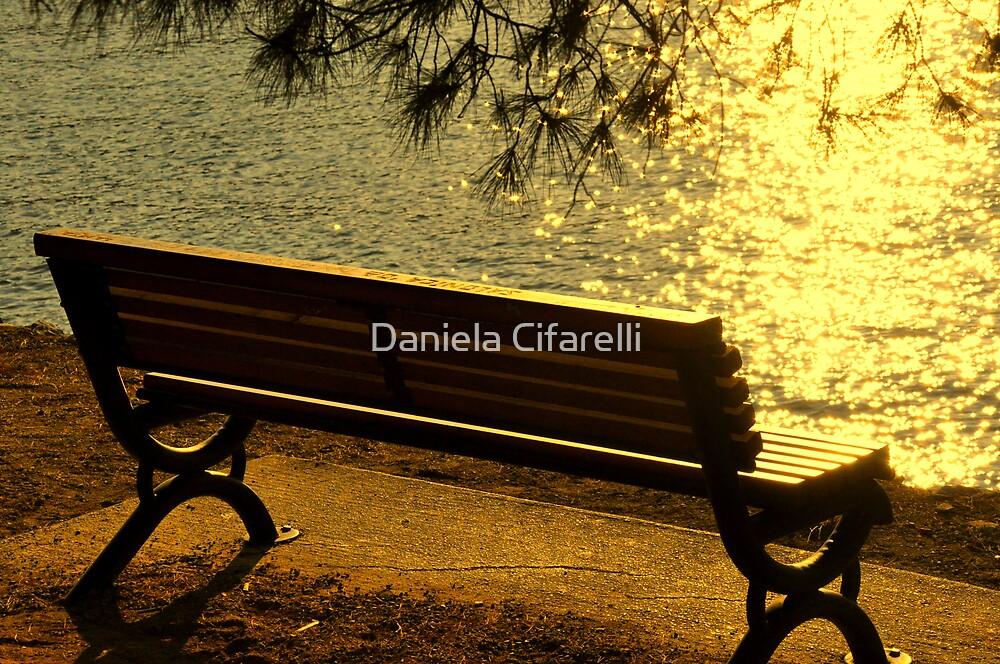 SKIATHOS - Golden shimmering  by Daniela Cifarelli