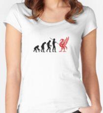 Liverpool-Entwicklung Tailliertes Rundhals-Shirt