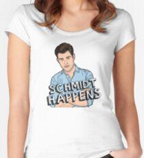 Schmidt Happens Women's Fitted Scoop T-Shirt