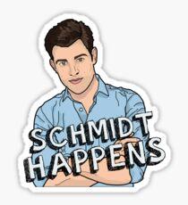 Schmidt Happens Sticker
