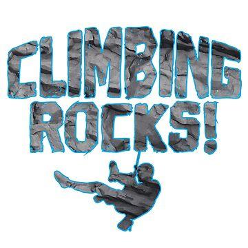 Climbing by 0815-Shirts