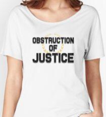 Behinderung der Justiz Baggyfit T-Shirt
