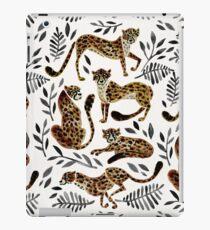 Cheetah Collection – Mocha & Black Palette iPad Case/Skin