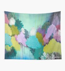 Autumn Meets Winter Wall Tapestry