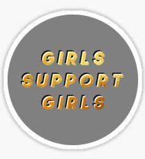 GIRLS SUPPORT GIRLS - modern Sticker