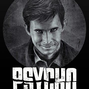 Psycho - Bates by GiGi-Gabutto