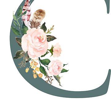 Monogram C Chloe Name by tanabe