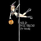 Pole Tricks For Treats Halloween Design by PonyPoison