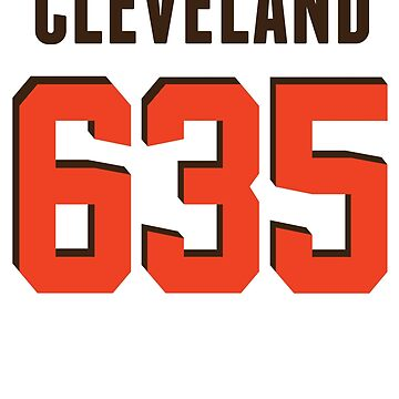 Cleveland No. 635 (Brown/Orange) by Pelicaine