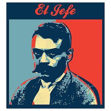 El Jefe - Emiliano Zapata by Chunga