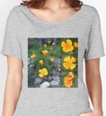 Golden light shining collage Women's Relaxed Fit T-Shirt