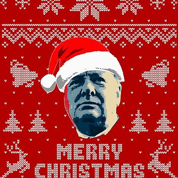 Winston Churchill Merry Christmas by idaspark