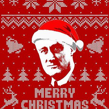 Roosevelt Merry Christmas by idaspark