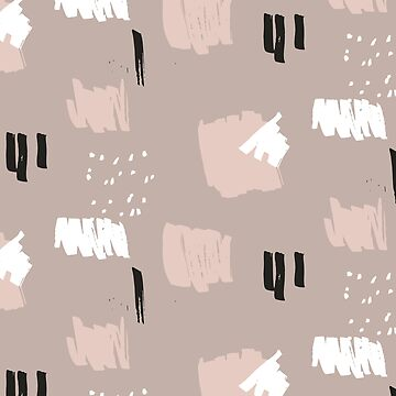 Blush Brush Stroke Pattern by stylebytara