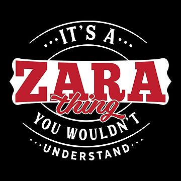 It's a ZARA Thing You Wouldn't Understand by wantneedlove