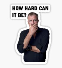 How hard can it be? Sticker