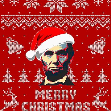 Abraham Lincoln Merry Christmas by idaspark