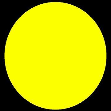 Yellow Polka Dot - Retro Skirt Dress Pattern by stickersandtees