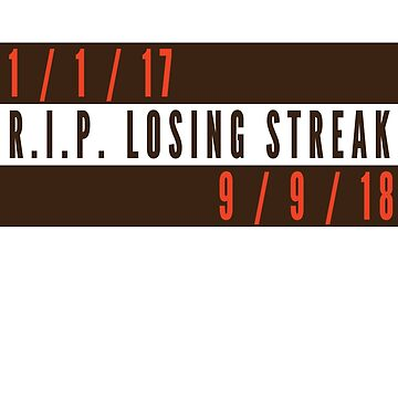 RIP Losing Streak (Brown/White) by Pelicaine