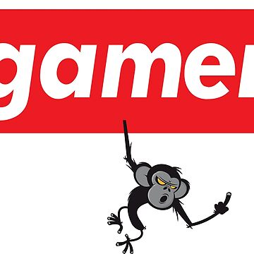 Gamer Monkey Words Gamer Use by ProjectX23