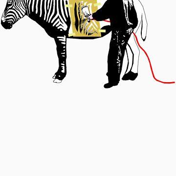 Generic Engineering (Custom Zebra) by nofrillsart