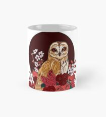 Owl Floral Eclipse Mug