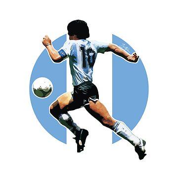 Maradona - D10S by Zero81